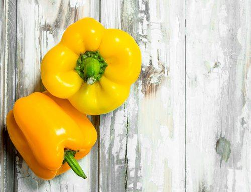 Propiedades y beneficios del pimiento amarillo